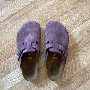 Women's Purple Birkenstock's Clogs